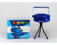 Лазерный проектор, стробоскоп, диско лазер LASER YX09A HJ09 2 in 1, Лазерный проектор с акустическим контролем