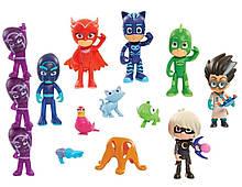 Набор Делюкс фигурки Герои в масках 16 штук, Deluxe PJ Masks, оригинал из США