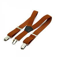 Детские Подтяжки Gofin suspenders Коричневые Pbd-15009, КОД: 389937