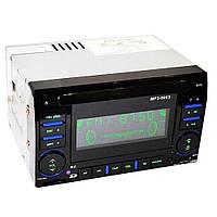Автомагнитола MP3 9903 2DIN, AM/FM приемник, SD/MMC карт, вход AUX, RCA разъемы, пульт ду, громкий звук, авто магнитола