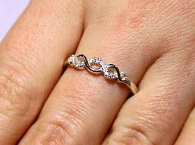 Кольцо серебро 925 проба 16.5 размер АРТ1223