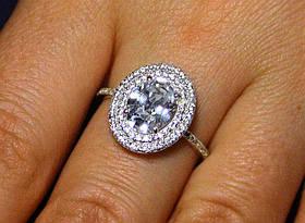 Кольцо серебро 925 проба 17 размер АРТ1191