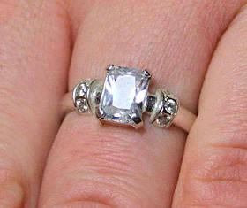 Кольцо серебро 925 проба 17 размер АРТ271