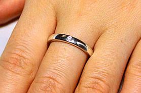 Кольцо серебро 925 проба 18 размер АРТ1189