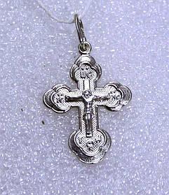 Крестик серебро 925 проба АРТ3053