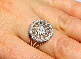 Кольцо серебро 925 проба 16 размер АРТ422