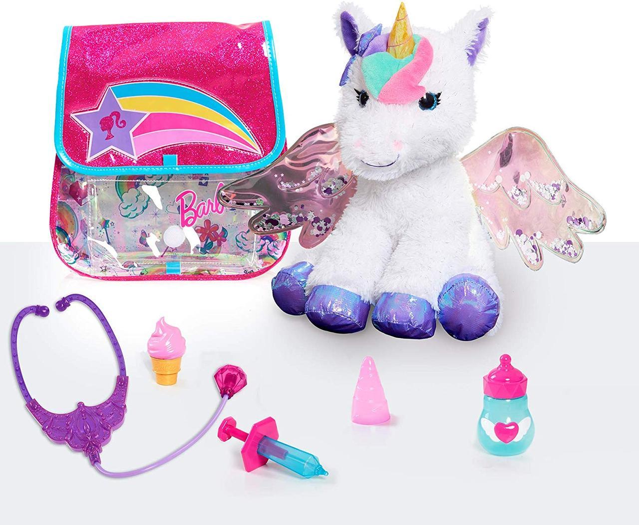 Интерактивный единорог, Единорог и ветеринарный набор, Единорог Барби, Barbie Unicorn Doctor Set