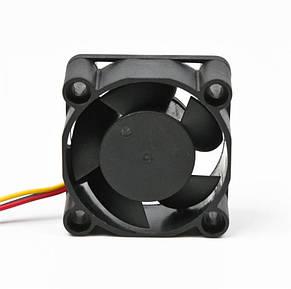 Вентилятор Titan TFD-4020M12Z, 40х40х20мм, 3-pin, Black, фото 2