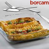 Форма для запекания квадратная Borcam Ø220х220мм 2000мл 59034 (1шт), фото 4