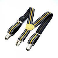 Детские Подтяжки Gofin suspenders В Полоску Разноцветные  Pbd-15011, КОД: 389936
