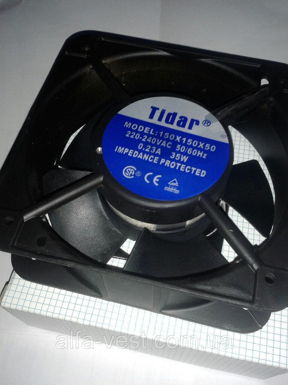 Вентилятор Tidar 92*92*25 на 220 вольт (для инкубаторов и для бытовых целей)