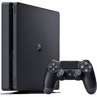 Игровая приставка Sony PlayStation 4 Slim (PS4 Slim) 1TB Black + 1 game (GOW)