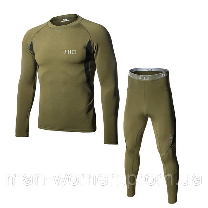 Термобельё 5.11. Для Национальной гвардии Украины. Хаки-олива (классический) цвет