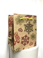 Пакет подарочный маленький #18(12*12*8)