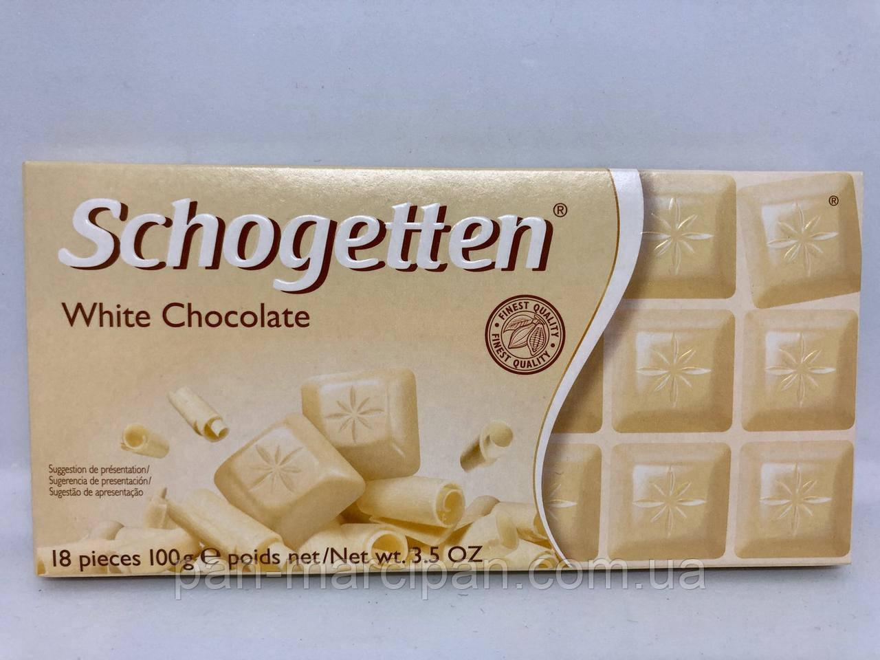 Шоколад Schogetten White Chocolate 100 г Німеччина
