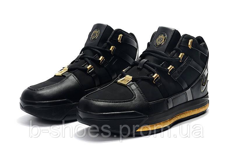 Мужские баскетбольные кроссовки  Nike LeBron Soldier 3 (Black)