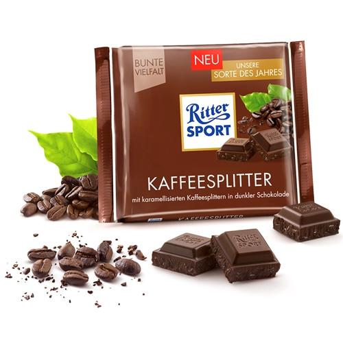 Черный шоколад Ritter Sport Кофе 100 г