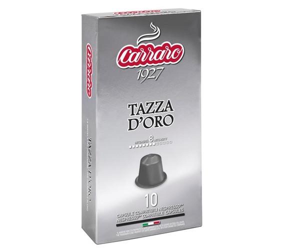 Кава в капсулах Carraro Tazza D'oro Nespresso 10 шт