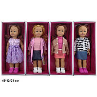 Кукла 46см 8920E American girls моргает 4в.кор.49*12*21