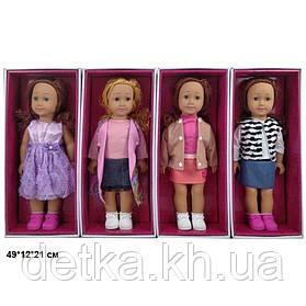 Лялька 46см 8920E American girls моргає 4в.кор.49*12*21