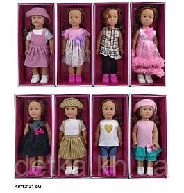 Лялька 46см 8920С American girls моргає 4в.кор.49*12*21