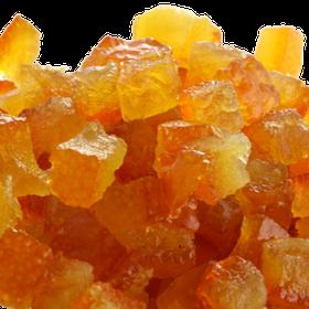 Апельсинові кубики зацукровані 6 х 6 мм Nappi
