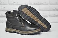 Мужские зимние качественные высокие ботинки комфорт