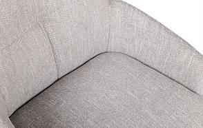 Кресло поворотное OLIVA  (59*63*83.5см текстиль) светло-серый, фото 2