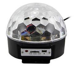 Только опт Диско-шар Musik Ball+USB MP-3  SD-5150