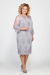 Платье женское Беларусь модель ЛК-969-19 серебро