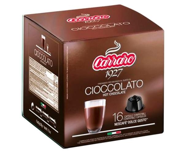 Шоколад в капсулах Carraro Cioccolato Dolce Gusto 16 шт