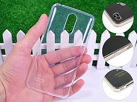 Ультратонкий 1мм силиконовый чехол для LG K8 2017 X240