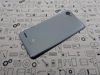 Крышка LG Q6 Alpha серая оригинал с разборки