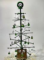 Новогодняя елка из металла