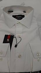 Мужская приталенная рубашка Sigmen модель  SDK5968S айвери