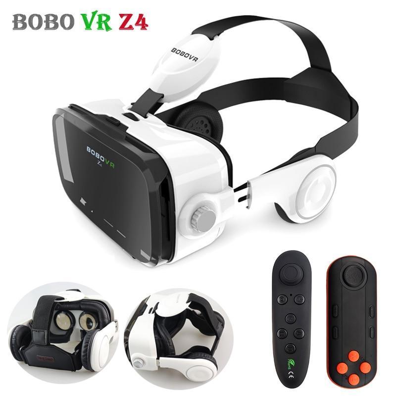 Только опт Очки виртуальной реальности VR Z4 с наушниками и пультом