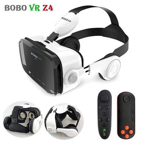 Только опт Очки виртуальной реальности VR Z4 с наушниками и пультом, фото 2