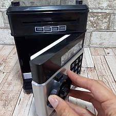 Только опт Электронная копилка сейф банкомат с кодовым замком, фото 3