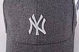 Зимняя бейсболка New York. Мужские бейсболки., фото 10