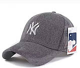 Зимняя бейсболка New York. Мужские бейсболки., фото 3