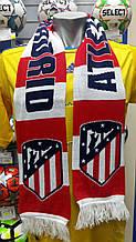 Футбольный ШарФ FC ATLETICO MADRID Испания