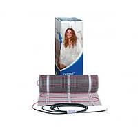 Теплый пол DEVI Comfort двухжильный нагревательный мат DTIR-150, 69 Вт, 230V, 0,5 м2, 0,5х1м (83030560)