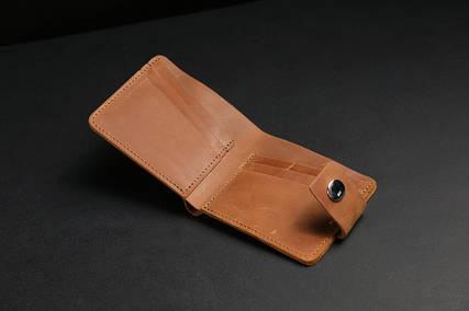 Класичне портмоне на 6 карток із застібкою
