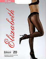 Колготки Elizabeth 20 den Bikini Charm Nero р. 2 (00119) | 5 шт.