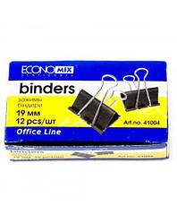 Биндеры для бумаги 19 мм Economix 12 шт