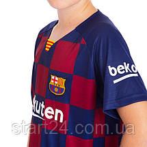 Форма футбольная детская BARCELONA MESSI 10 домашняя 2019, фото 3