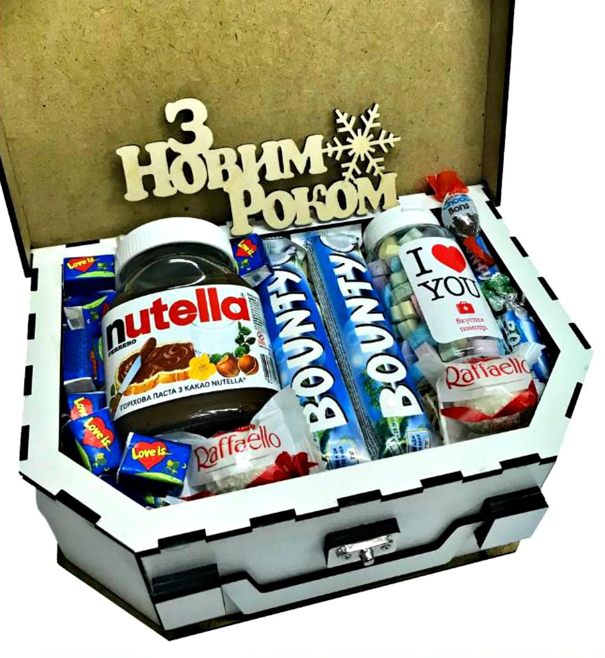Подарок со сладостями для близкого человека в оригинальной упаковке Р18