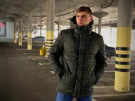 Куртка мужская зимняя хаки Intruder Everest