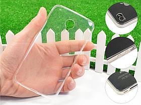 Ультратонкий 1мм силиконовый чехол для Meizu MX4