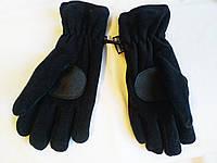 Перчатки зимние унисекс флисовые спортивные Thinsulate (размер M)